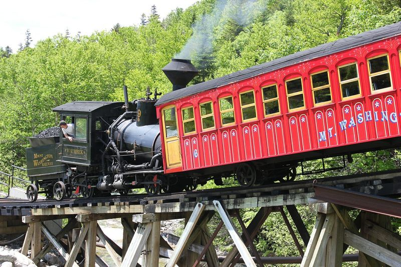 Cog Steam Train