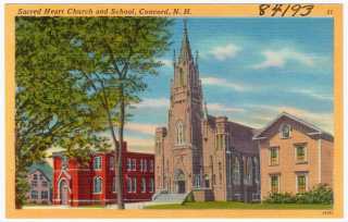 Sacred_Heart_Church_and_school _Concord _N.H_(84193)