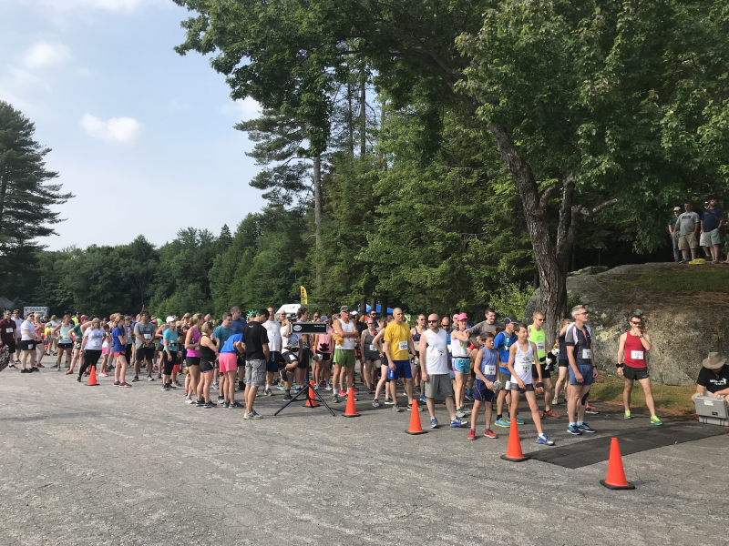 2018 5K starting line