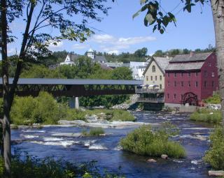 River mill bridge by Kris Covey 2006