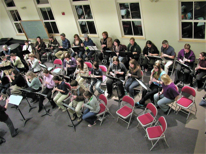Band pic for New Horizons - WW Department Workshop Week 2010  025