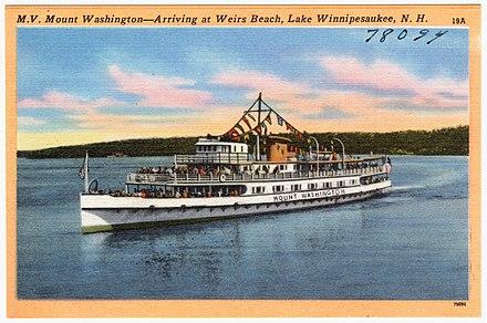 440px-M.V._Mount_Washington_--_Arriving_at_Weirs_Beach _Lake_Winnipesaukee _N.H_(78094)